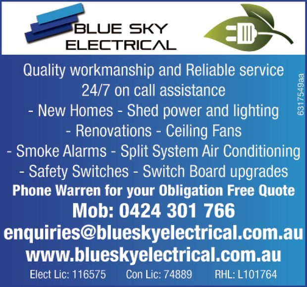 Quality workmanship and Reliable service    24/7 on call assistance  New Homes  ...