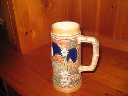 Gerz Pottery Beer Stein. Number 8. Original.  18cm. Best Offer