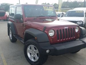 2011 Jeep Wrangler JK MY2011 Sport Deep Cherry Red 6 Speed Manual Softtop