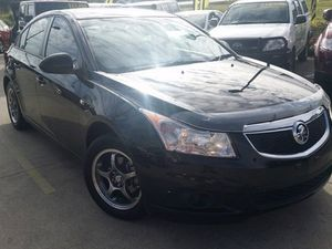 2011 Holden Cruze JH SERIES II MY CD Black 5 Speed Manual Sedan