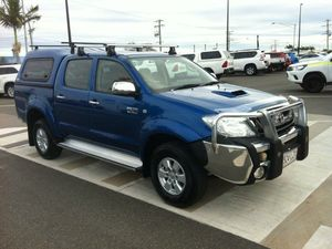 2009 Toyota Hilux KUN26R MY09 SR5 Blue 5 Speed Manual Utility