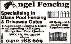 ngel Fencing Specialising in Glass Pool Fencing & Driveway Gates 6351325aa u Aluminium Fencing &...