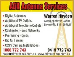 * Digital Antennas * Additional TV Outlets * Additional Telephone Outlets * Cabling for Home Network...