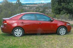 KIA Cerato, 2009, auto, c/lock, p/steer/windows, w/tint, cruise, 8 airbags, new tyres, new batter...
