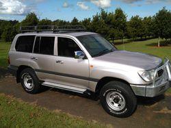 2000 Landcruiser 100 Series 4500, man.,   brilliant cond., dual fuel, 8-str, air, cruise,  ...