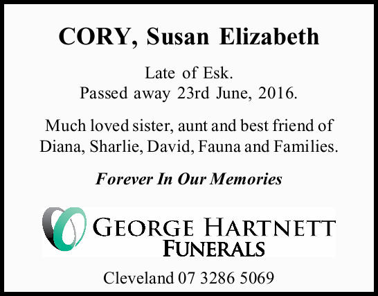 Late of Esk.