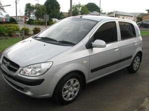 2011 Hyundai Getz 5 DOOR Hatch Silver 5 Speed Manual Hatchback
