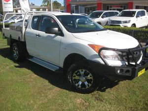 2014 Mazda BT-50 MY13 XT (4x2) White 6 Speed Manual
