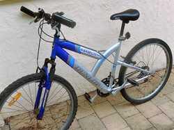 gc.15speed shimano,alloy wheels,silver-blue
