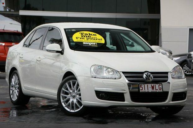 2007 Volkswagen Jetta 1KM MY07 FSI Tiptronic White 6 Speed Sports Automatic Sedan
