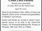 GARD, Larry Edward