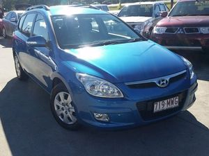 2009 Hyundai i30 FD MY09 SX cw Wagon Blue 4 Speed Automatic Wagon