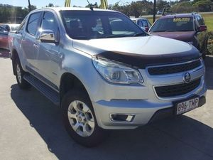 2012 Holden Colorado RG MY13 LTZ Crew Cab Silver 5 Speed Manual Utility