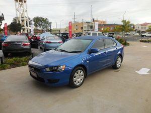 2011 Mitsubishi Lancer CJ MY11 ES Sportback Blue 6 Speed Constant Variable Hatchback