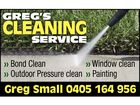 Gregs Cleaning Service