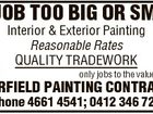 DJ LARFIELD PAINTING CONTRACTOR