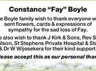 "Constance ""Fay"" Boyle"