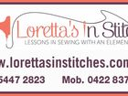 LORETTA'S IN STICHES