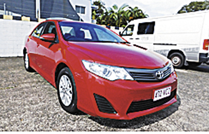 Toyota Camry Altise Auto, 2014. Rego, RWC. $17,900. Ring Fleet Hire today