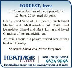 FORREST, Irene of Toowoomba passed away peacefully 23 June, 2016, aged 86 years. Dearly loved Wife o...