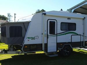 2015 Windsor Rapid Off Road Van