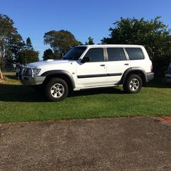 NISSAN Patrol 2003 3lt turbo, vgc, c/van brakes, reverse camera, internal fridge plug, 7 seats, g...