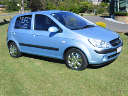 AUTOMATIC Hyundai Getz 2009