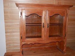 shelf,1x1m high/wide,35deep,beautiful fittings and details,vgc,base 750x1200,used asdisplay hutch/de...