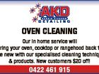 6348601aa OVEN CLEANING Our in home service will bring your oven, cooktop or rangehood back to like new with our specialised cleaning technique & products. New customers $20 off! 0422 461 915