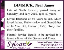 DIMMICK, Neal James