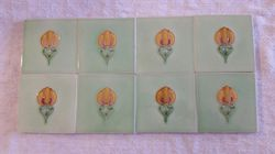 Set of 8 matching Tiles