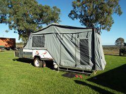 CUB Camper hard floor Trailer - Supermatic Escape, 2010 Model, 12 months rego $26,500. All Enquir...