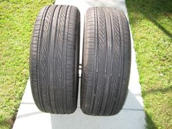 ( 2 ) Federal Tyre's , Formoza FD2 , 205/55  ZR17  As new , done only 530 klm