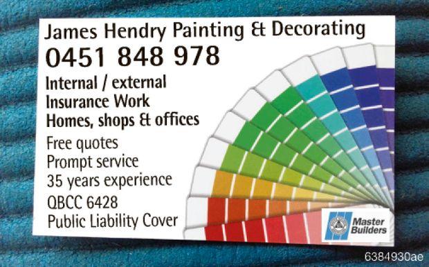 (0451) 848978   Internal / external   Insurance Work Homes, shops & offices  ...