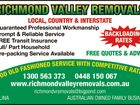 Richmond Valley Removals