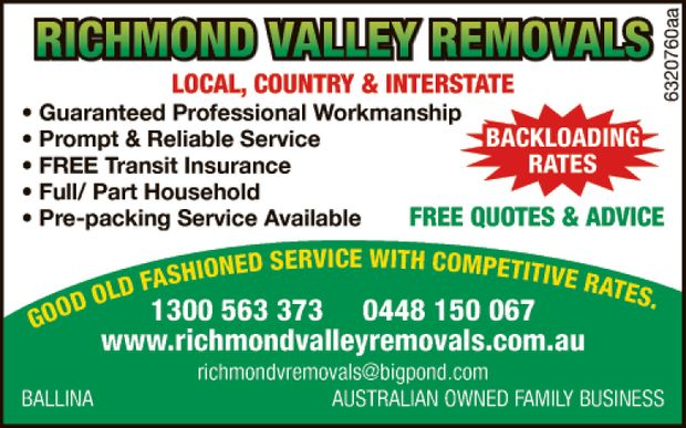 Local, Country & Interstate 