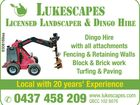LANDSCAPE AND DINGO HIRE