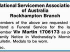 National Servicemen Association of Australia Rockhampton Branch