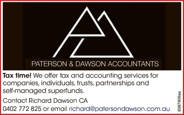 We offer tax and accounting services for companies, individuals, trusts, partnerships and sel...