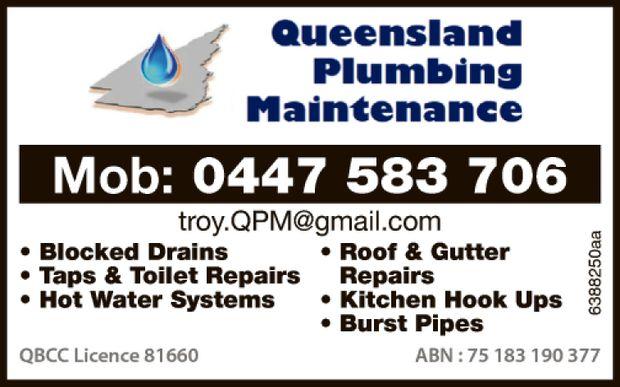 Mob: 0447 583 706   troy.qpm@gmail.com    Blocked Drains  Taps & Toilet Repai...