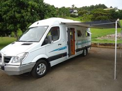 One owner, non-smoker, 7 metre Motorhome only travelled 40,000kms. Shower toilet, Queen bed...