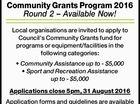 Community Grants Program 2016 Round 2