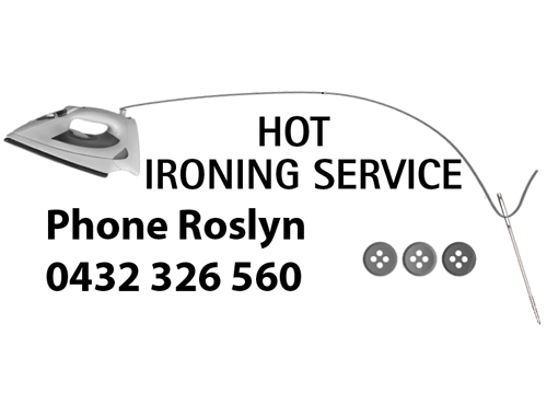 HOT IRONING SERVICE