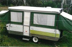 JAYCO EXPANDER, sleeps 4, 2 way fridge, stove with grill, 750 atm, rego till 9/16, near new canva...