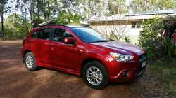 MITSUBISHI ASX, 2010, auto, 2L, 4cyl, rego 05/17, log books, only 90,000klms, a/c, alloys, p/stre...