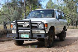 HJ SERIES LANDCRUISER Stn Wgn; 1986; Turbo; 592,392kms; GC; New front tyres; Bull bar; Tow bar, R...