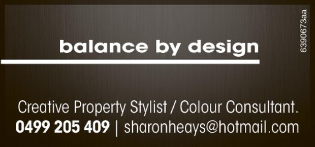 Creative Property Stylist / Colour Consultant.