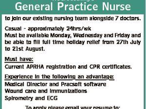 General Practice Nurse to