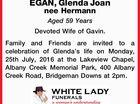 EGAN, Glenda Joan nee Hermann