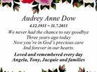 Audrey Anne Dow